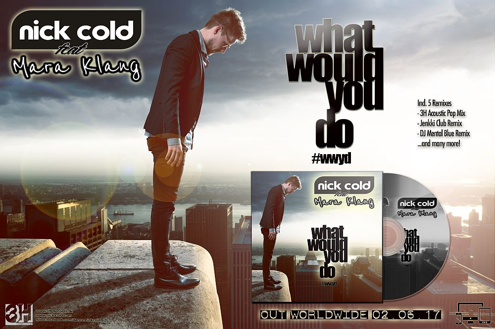 Promobanner - Nick Cold - What would you do